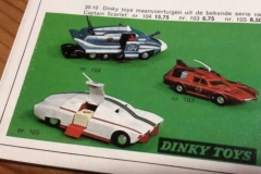 Speelgoed-Auto-Dinkey-Toy-Captain-Scarlet-Brochure